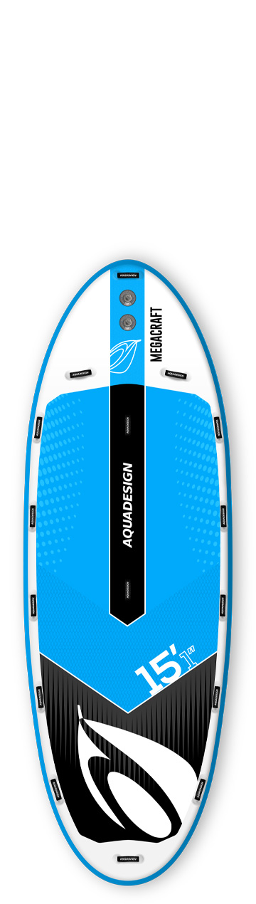 STAND UP PADDLE BOARD GONFLABLE (SUP) MEGACRAFT 15'1