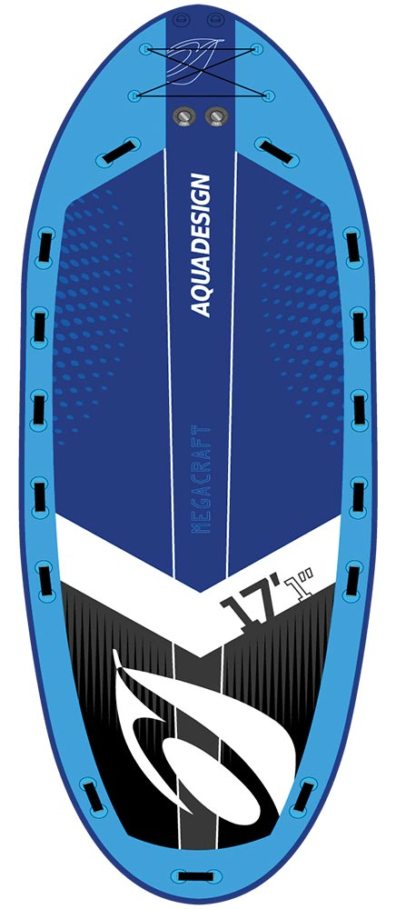 STAND UP PADDLE BOARD GONFLABLE (SUP) MEGACRAFT 17'1""