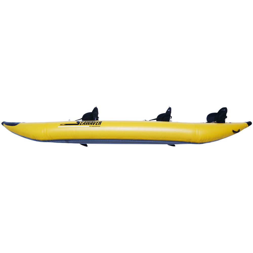 CA2286-3Y-CANOE-SEAWEAVER-400-3-PLACES-JAUNE-SIDE-2016