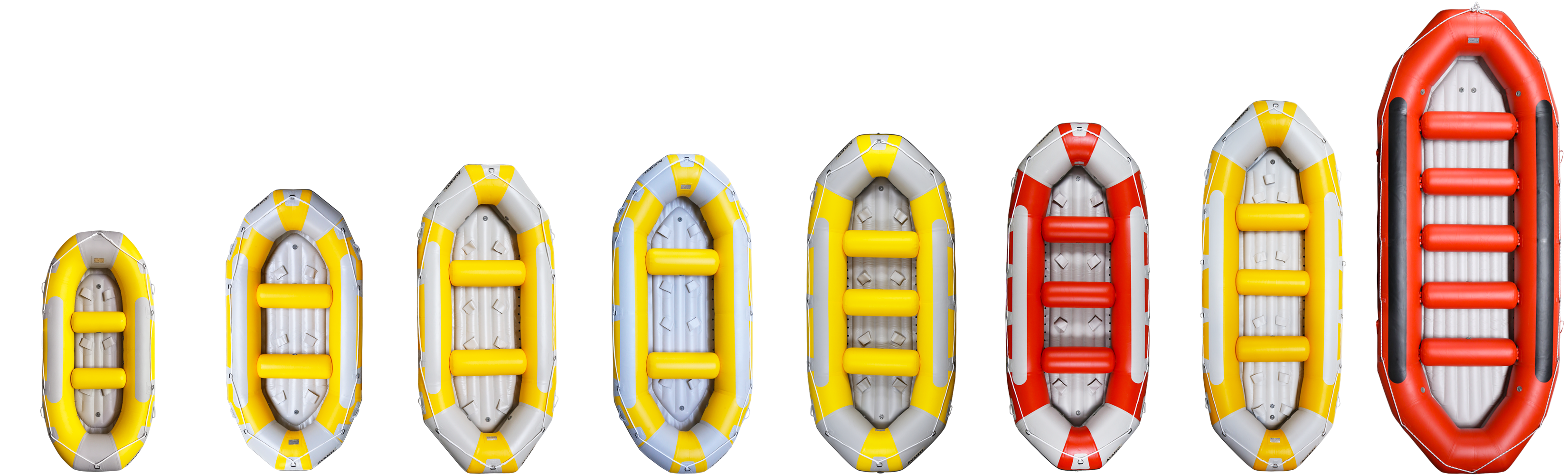 AQUADESIGN RAFT - COMPLETE RANGE OF RAFTING BOATSG