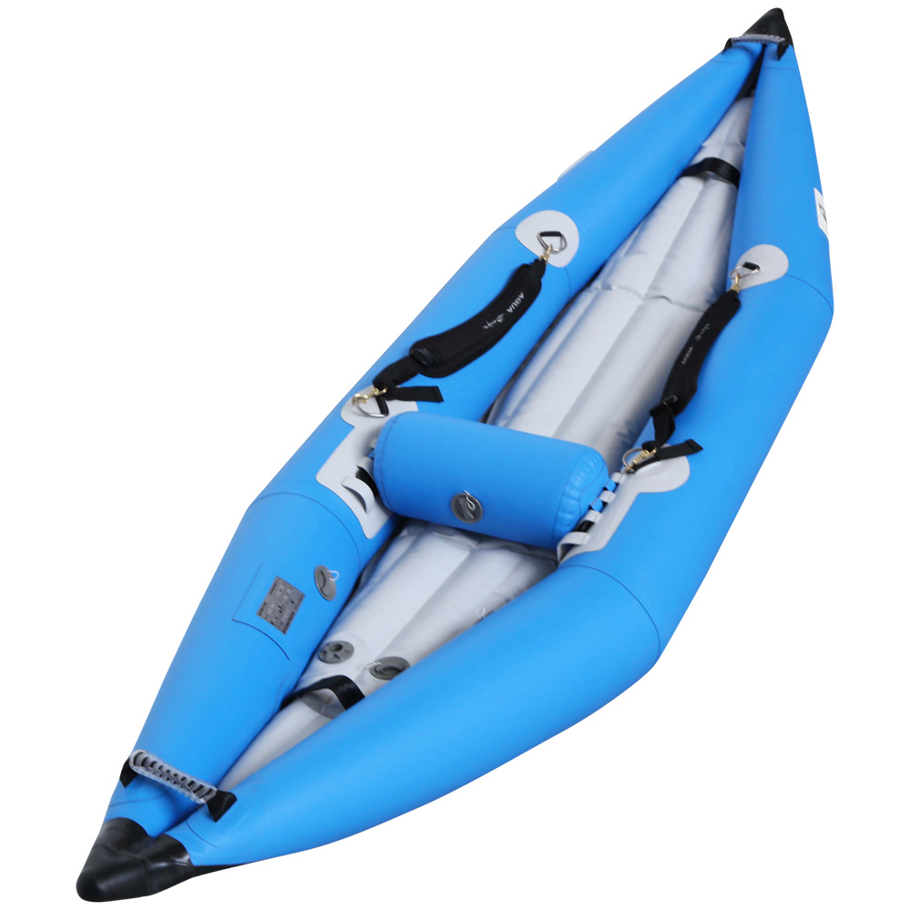 inflatable kayak k air 240 blue or red kid aquadesign. Black Bedroom Furniture Sets. Home Design Ideas