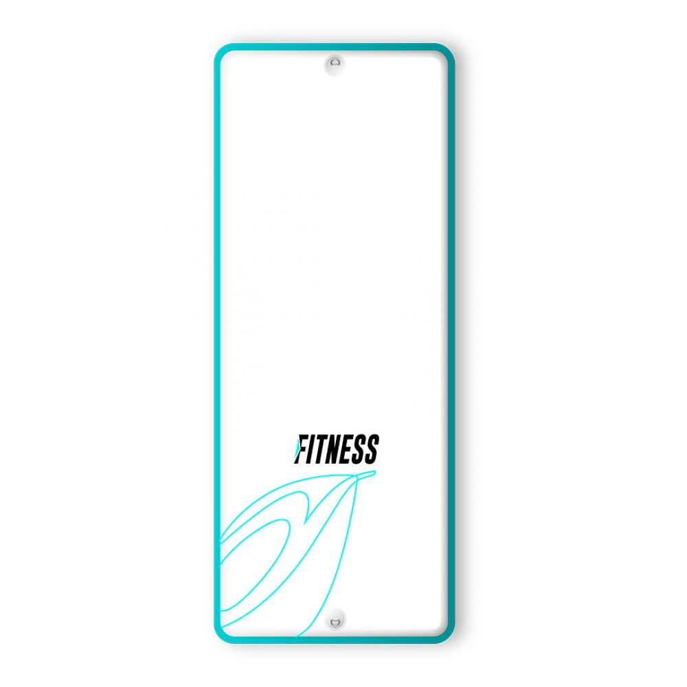 PLANCHE FITNESS BOARD GONFLABLE PVC AQUADESIGN VUE DERRIERE