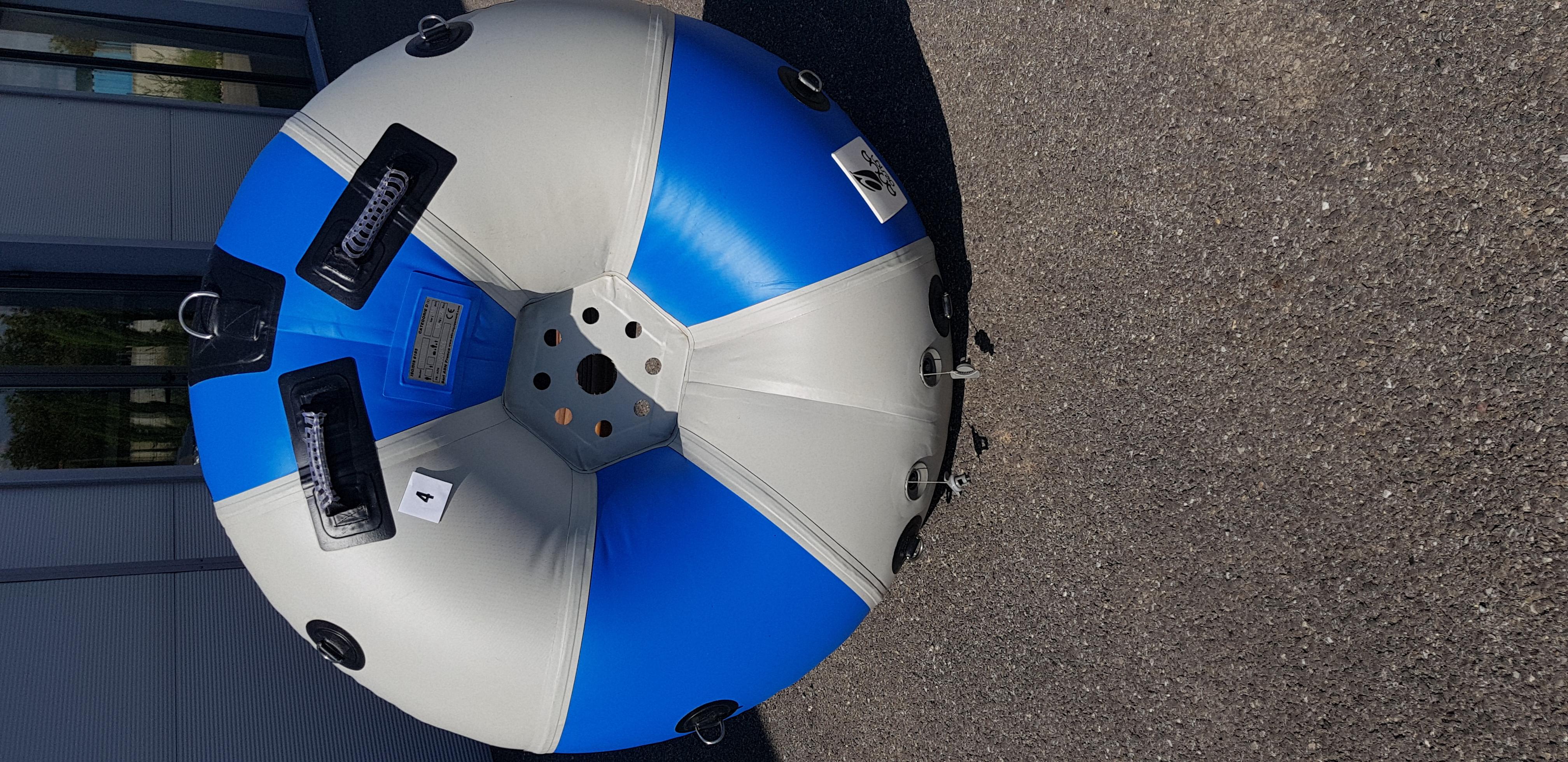 Tubing 125 Bleu F