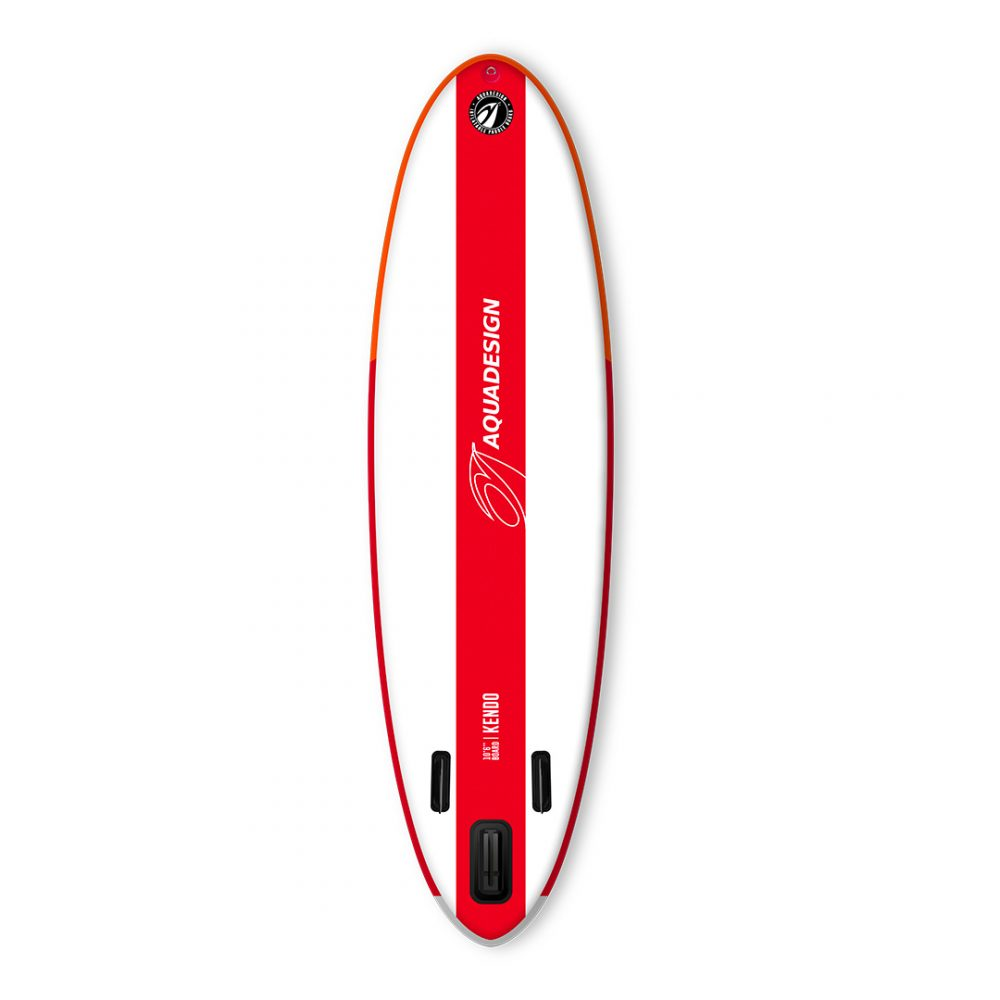 STAND UP PADDLE GONFLABLE PVC KENDO AQUADESIGN VUE DERRIERE