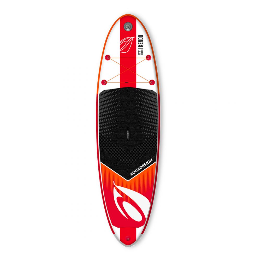 STAND UP PADDLE GONFLABLE PVC KENDO AQUADESIGN VUE DEVANT