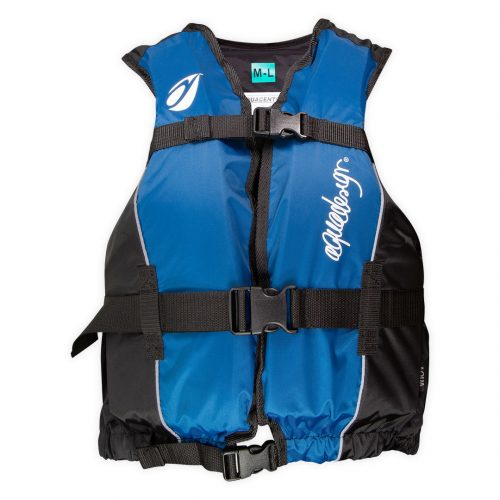 Jacket Centre Club canoe kayak vest front view blue