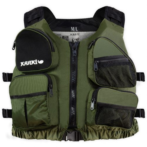 KAAKI fishing vest and canoe kayak trekking