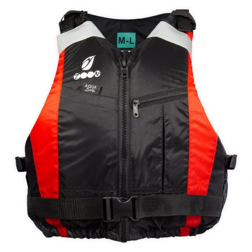 Red Zoom jacket front view