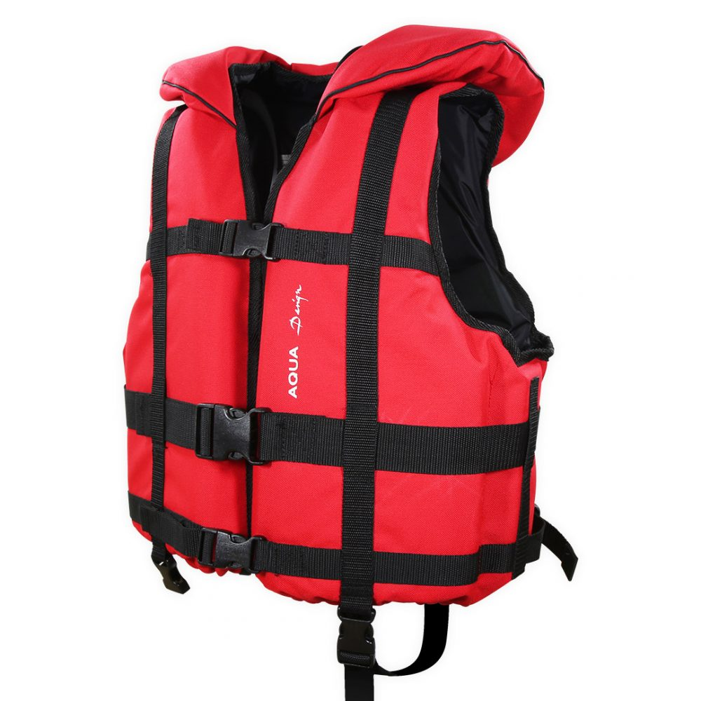 Gilet raft expedition club plus Aquadesign 110N norme 12402-4 angle