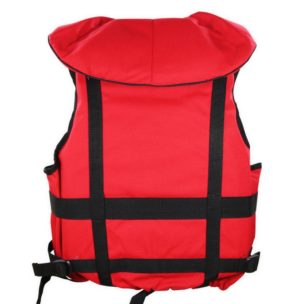 Gilet raft expedition club plus Aquadesign 110N norme 12402-4 arrière
