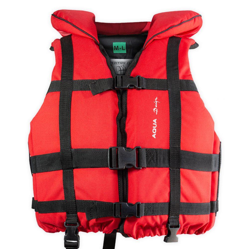 Gilet raft expedition club plus Aquadesign 110N norme 12402-4 avant