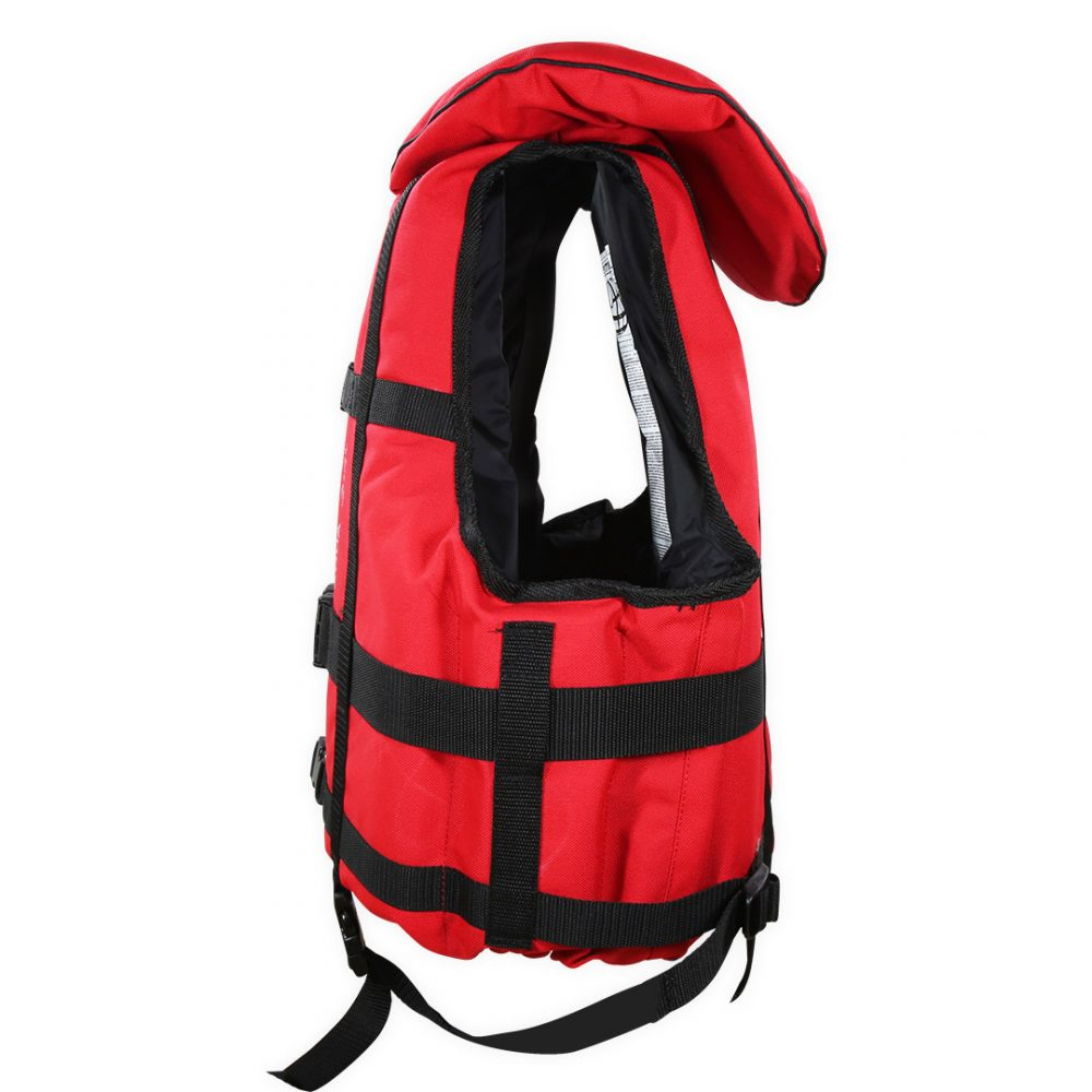 Gilet raft expedition club plus Aquadesign 110N norme 12402-4 côté