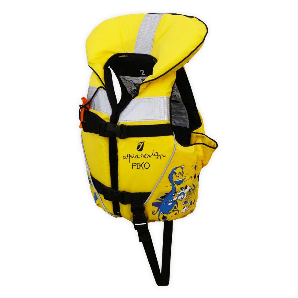 Gilet KID canoë kayak pour enfants angle