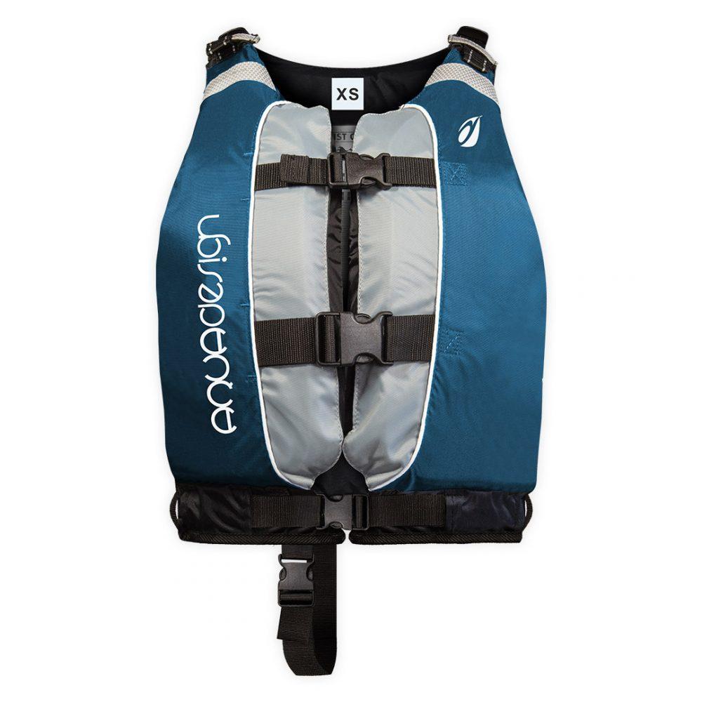 Gilet canoë kayak twist club vert XS une couleur par taille