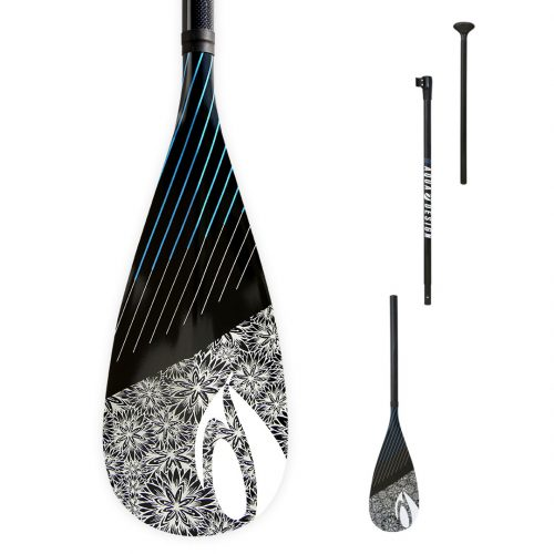 Pagaie SUP (Stand Up Paddle Board) Aura 3 parties 70% carbon