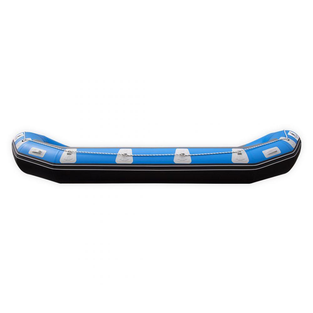 RAFTING GONFLABLE PVC FOND DROPSTITCH PULSE 470 AQUADESIGN VUE DE COTE