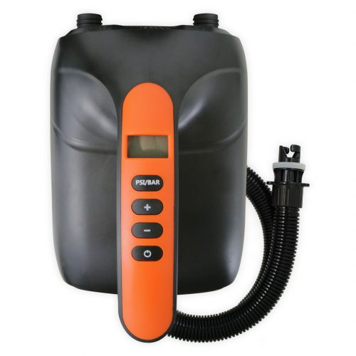 High pressure electric inflator on cigarette lighter for stand up paddle board