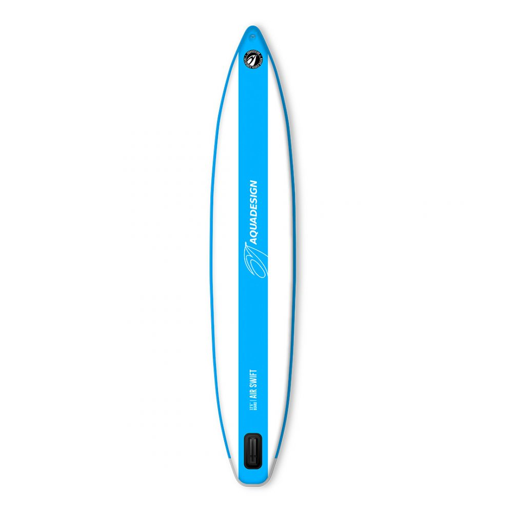STAND UP PADDLE BOARD GONFLABLE PVC AIR SWIFT AQUADESIGN VUE DERRIERE