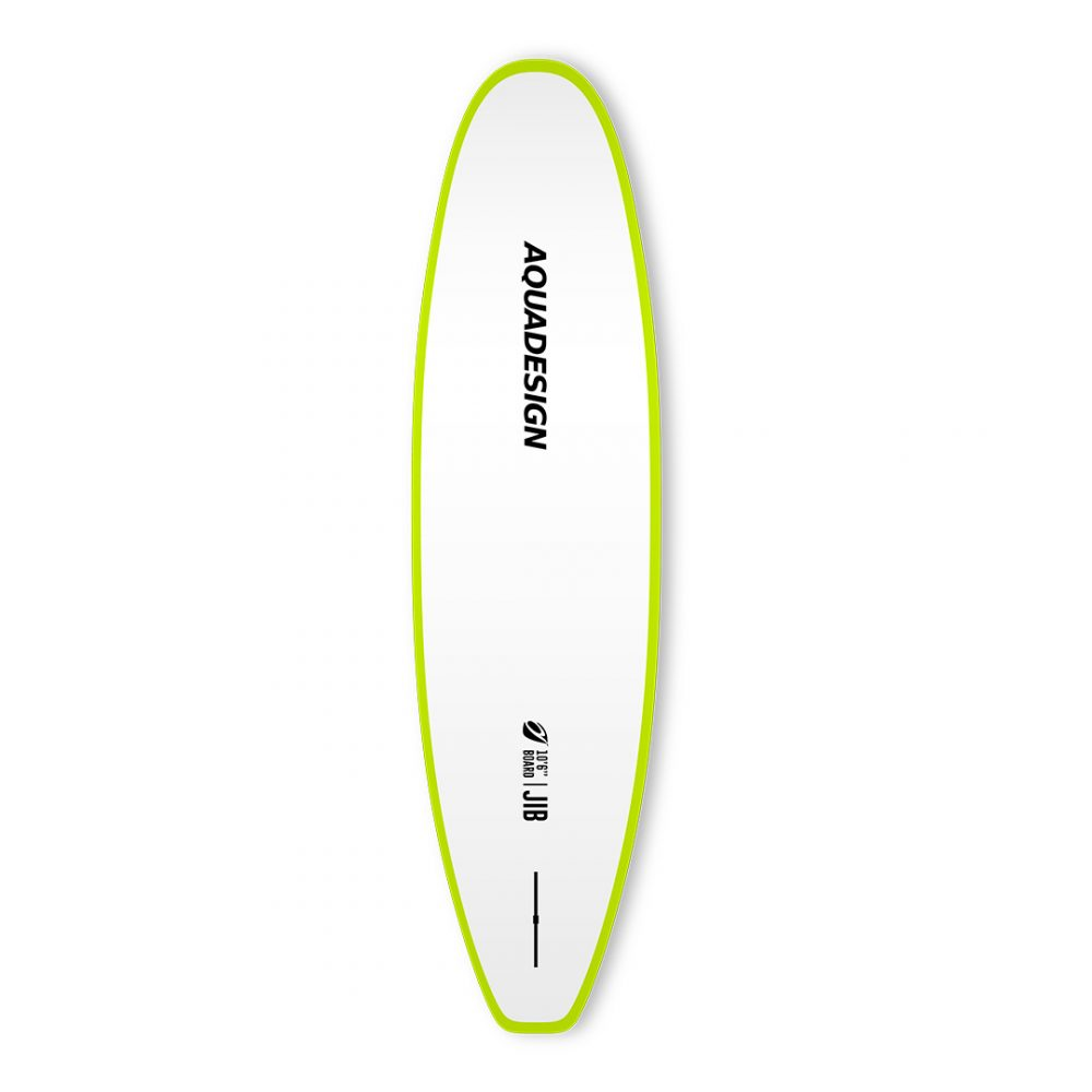 STAND UP PADDLE RIGIDE JIB AQUADESIGN VUE DERRIERE