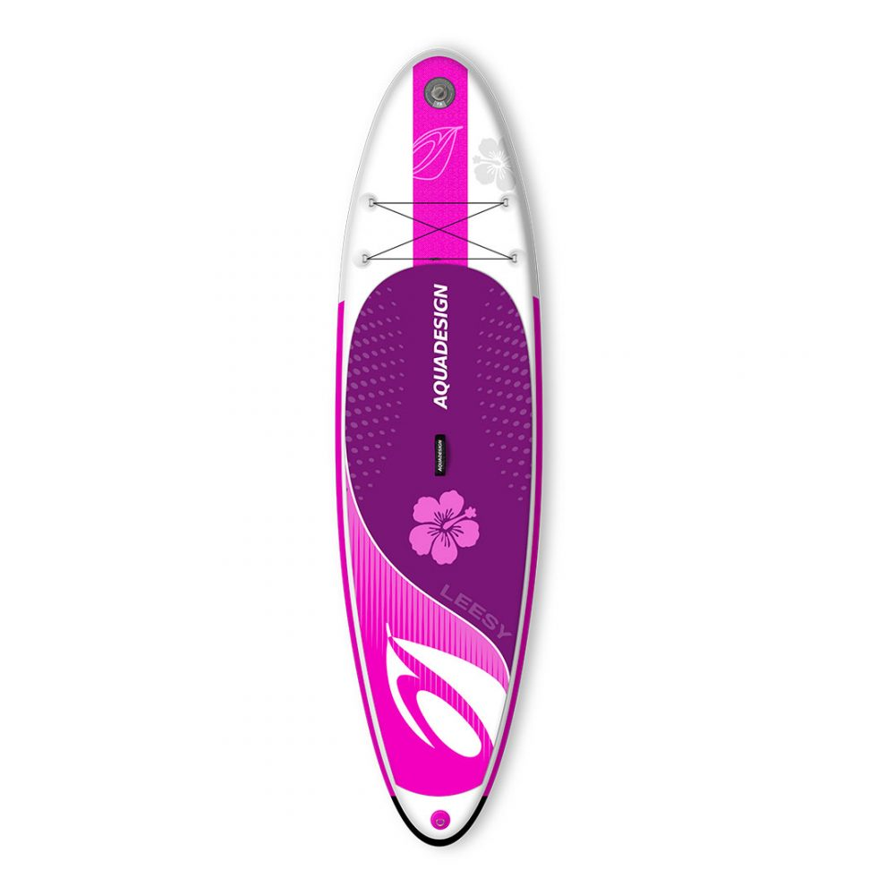 STAND UP PADDLE BOARD GONFLABLE PVC LEESY AQUADESIGN VUE DEVANT