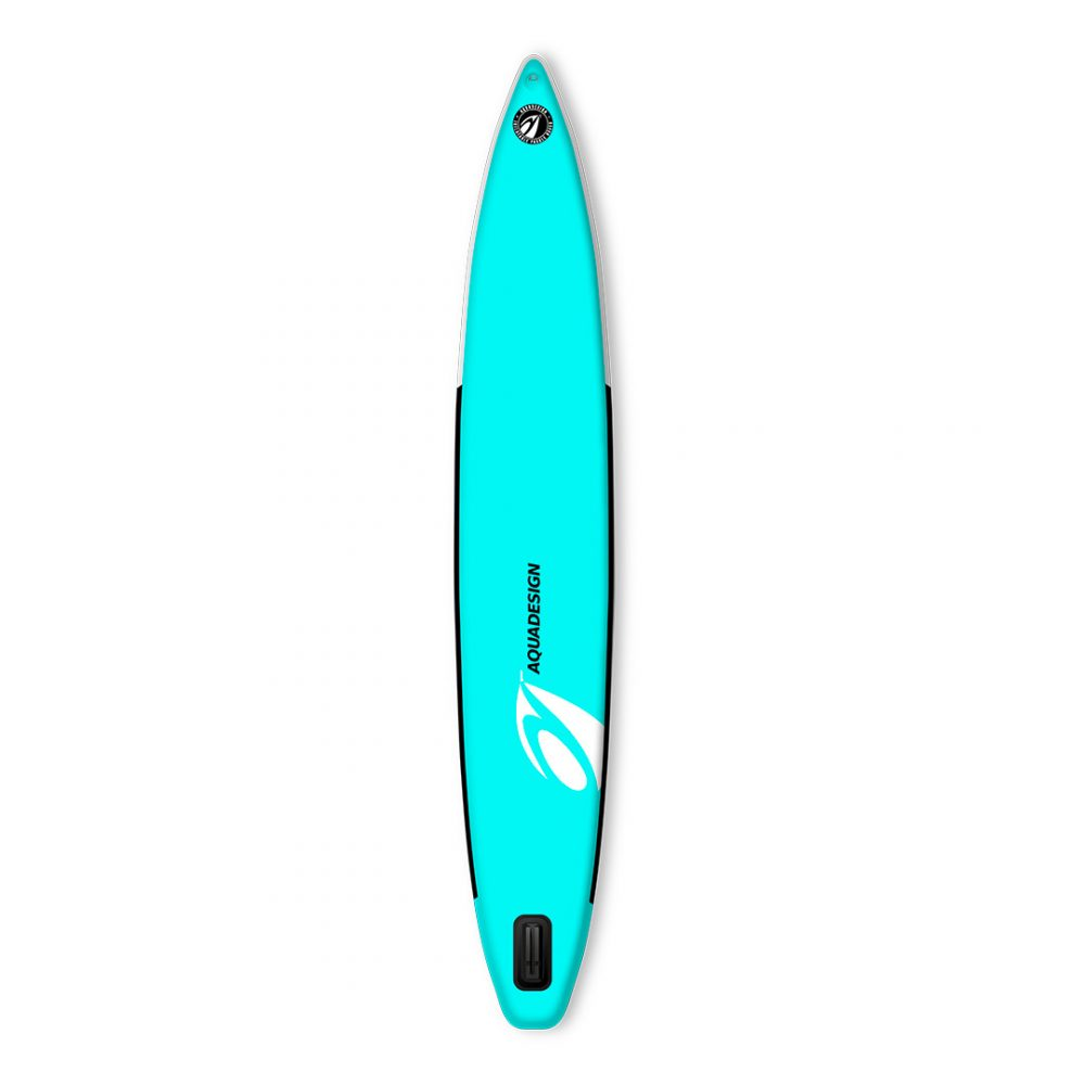 STAND UP PADDLE BOARD GONFLABLE PVC SWAT AQUADESIGN VUE DERRIERE