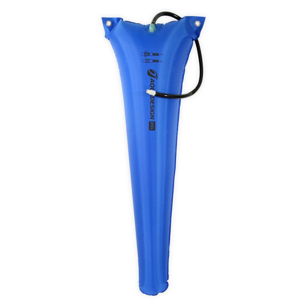 Réserve de flottabilité kayak 20L bleu Aquadesign
