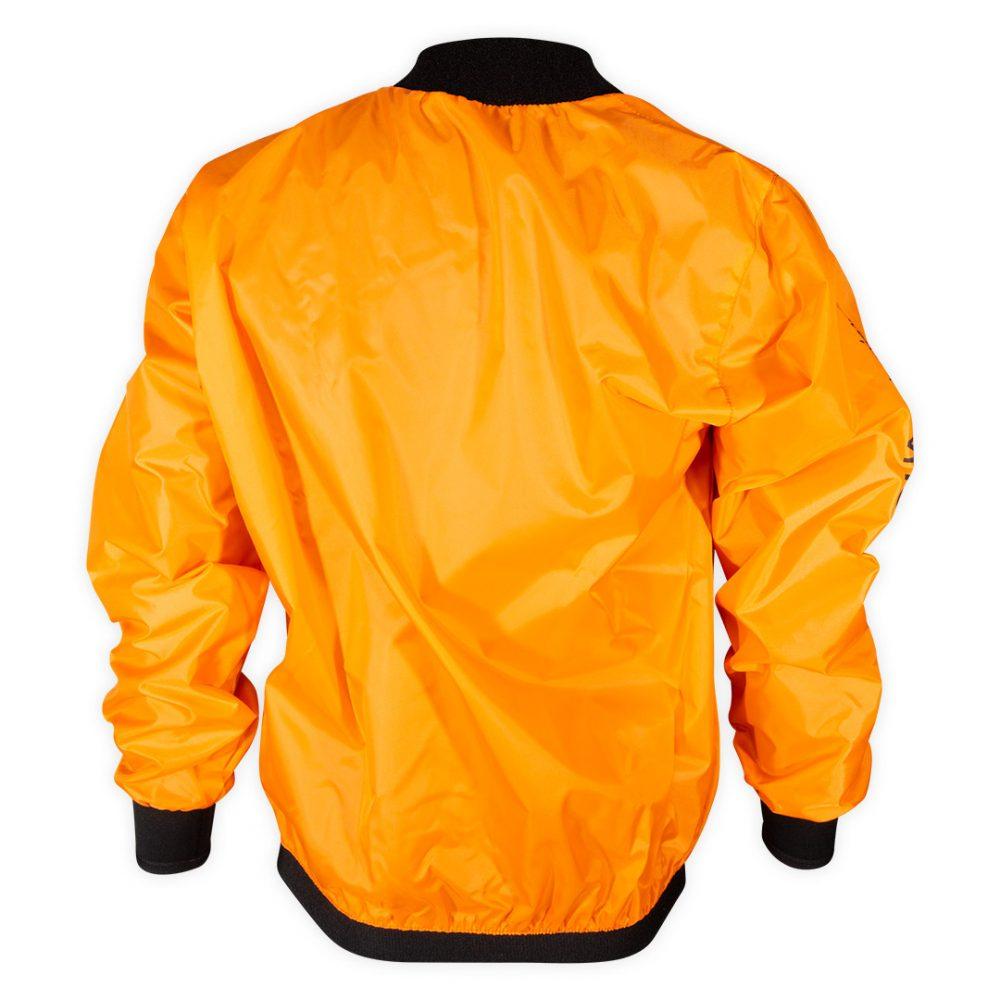 Cheap orange Touring club windcheater back view