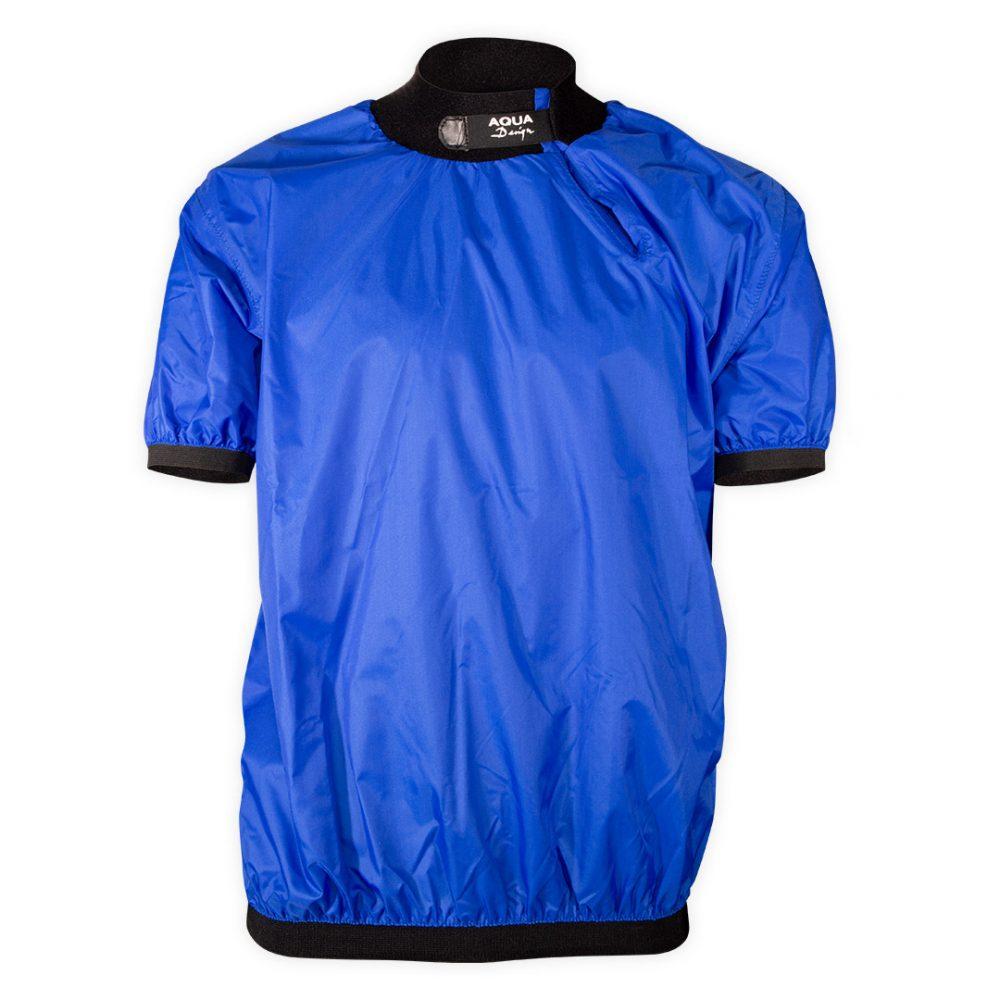 Bali blue short-sleeved club windcheater Bali short sleeves cheap front view