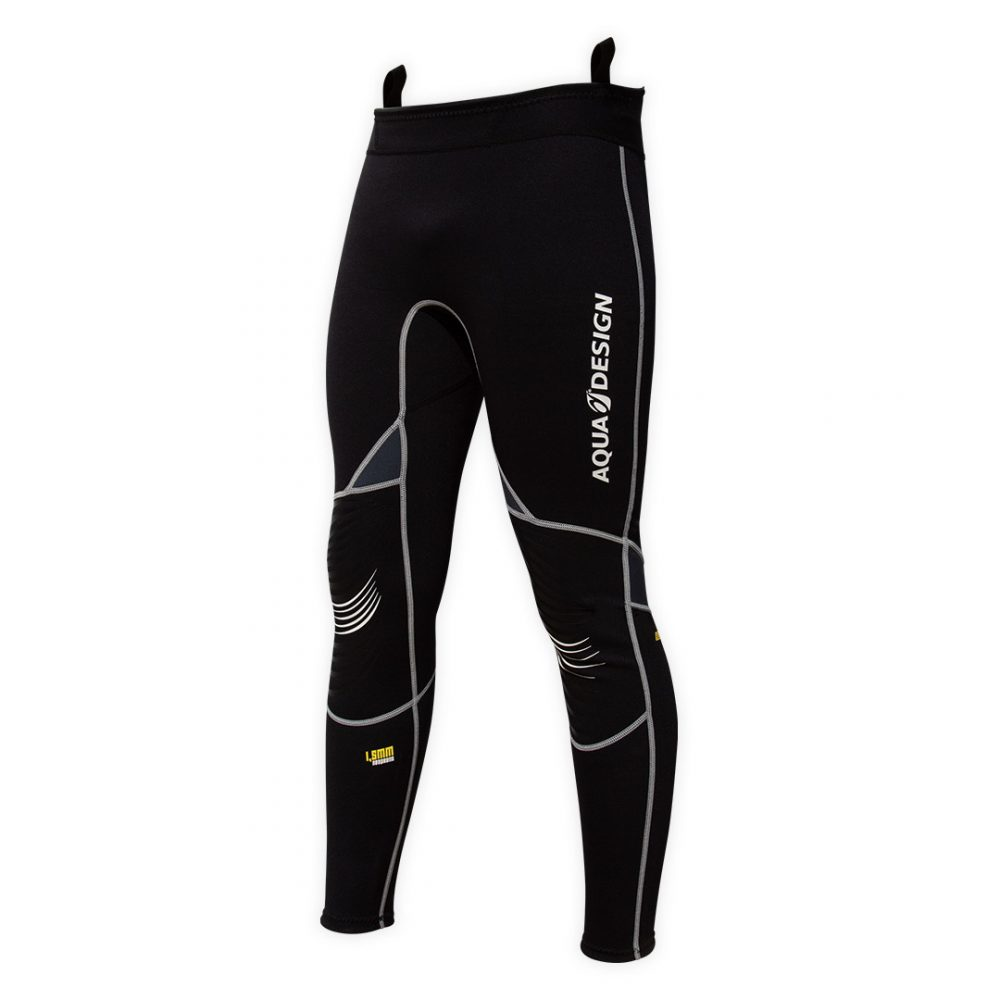 Pantalon Titanium Reeven 1,5mm en néoprène fin et chaud pour la voile, kite, paddle board, canoë kayak