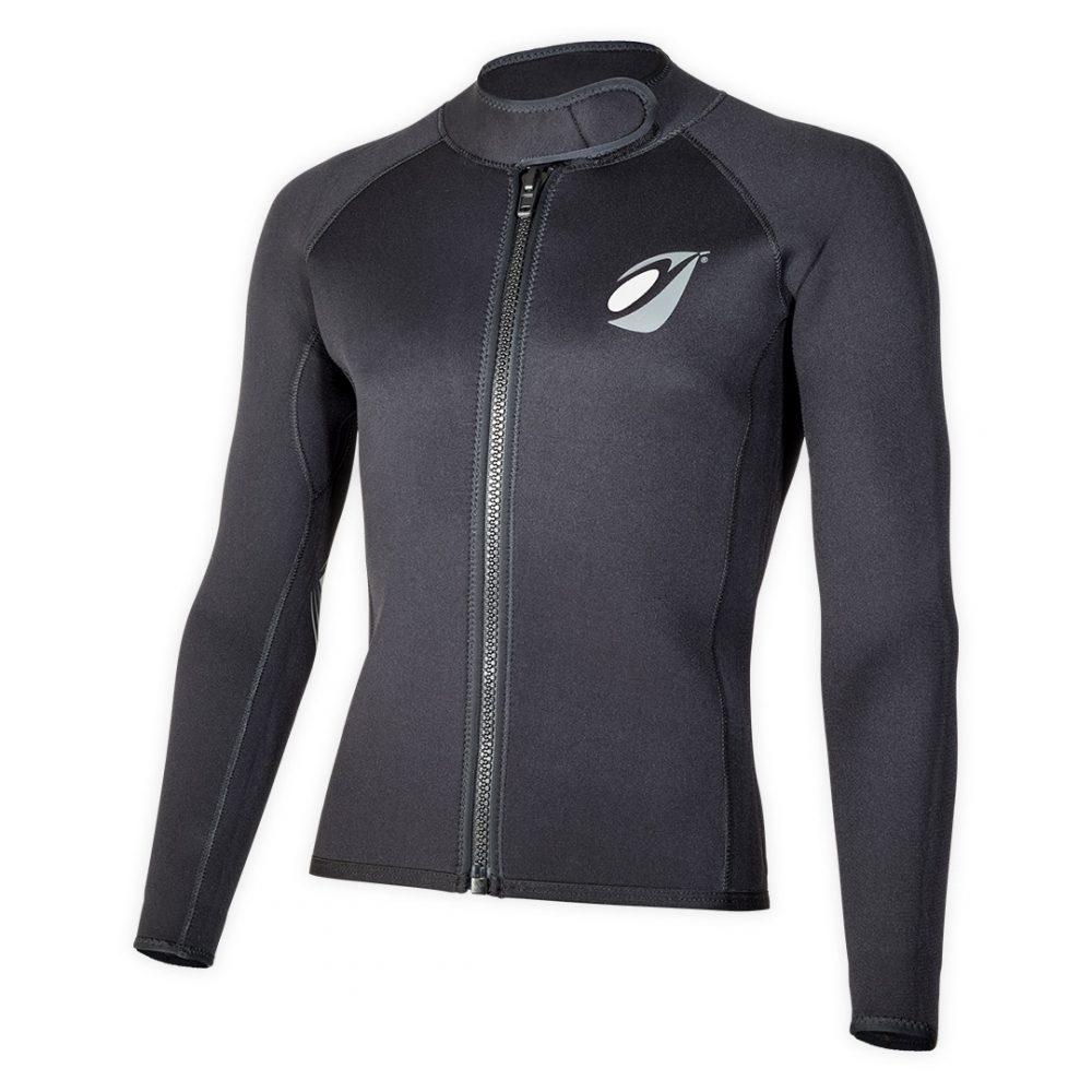 Neoprene bolero jacket Keeps 4mm with ZIP ideal rafting, canyoning corner view