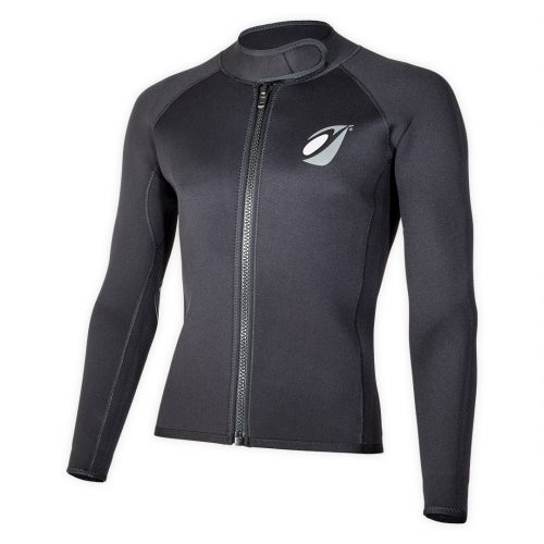 Neoprene bolero jacket Keeps 4mm with ZIP ideal rafting, canyoning corner view