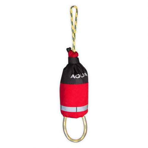 Corde de sécurité sans ceinture 20 mètres rouge canoë kayak rafting