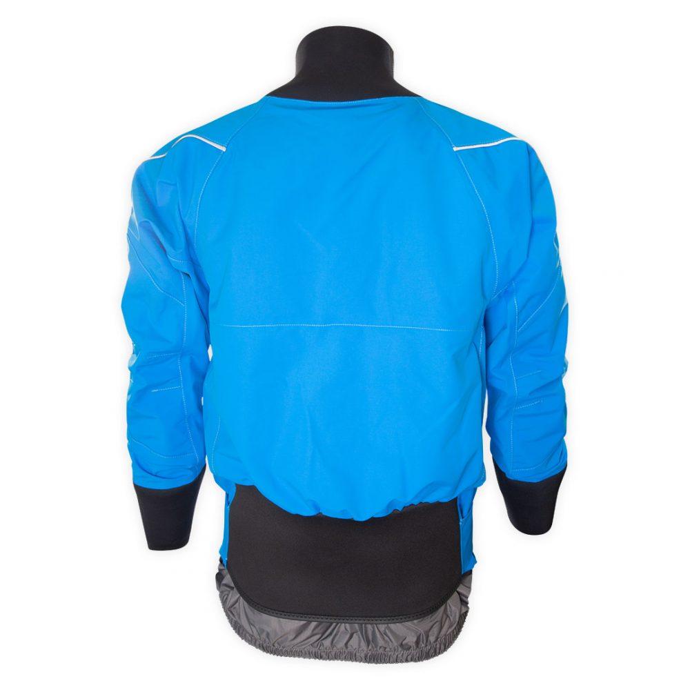 Coupe vent étanche Aquadesign Hiptech bleu vue de dos