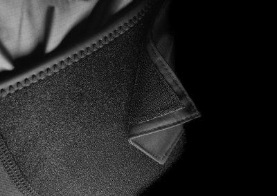 Détail pantalon étanche Aquadesign Hiptech