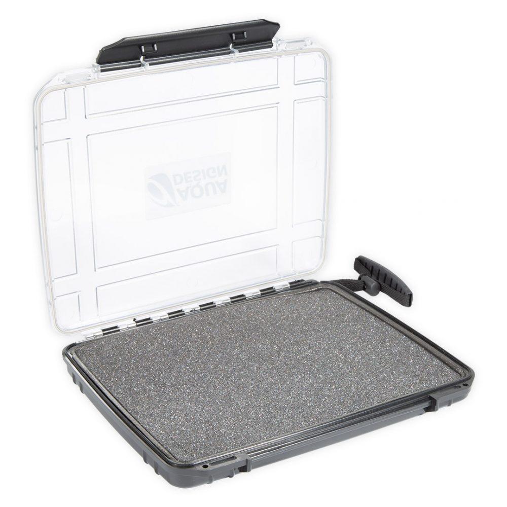 """Boite étanche tablette PADD INN Aquadesign pour ipad ou tablette 9,7"""" vue d'angle"""