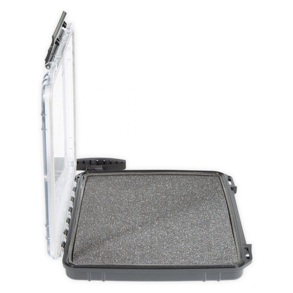 """Boite étanche tablette PADD INN Aquadesign pour ipad ou tablette 9,7"""" vue de côté"""