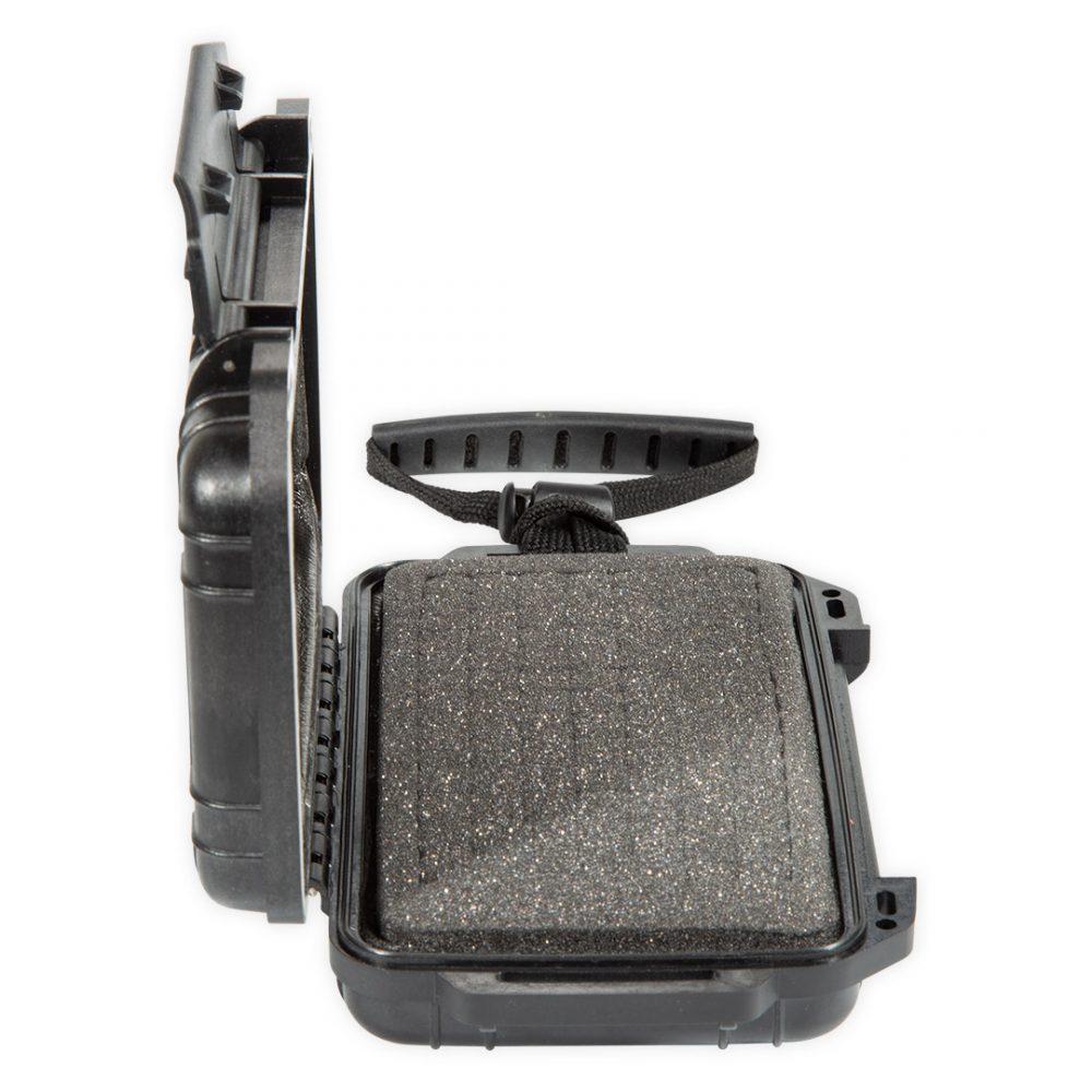 """Boite étanche smartphone FONE INN Aquadesign pour téléphone portable 6"""" vue de côté"""