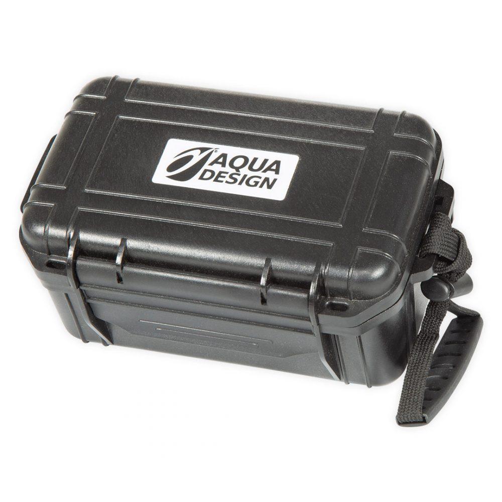 Boite étanche profonde DROPP INN Aquadesign pour accessoires divers vue de dessus