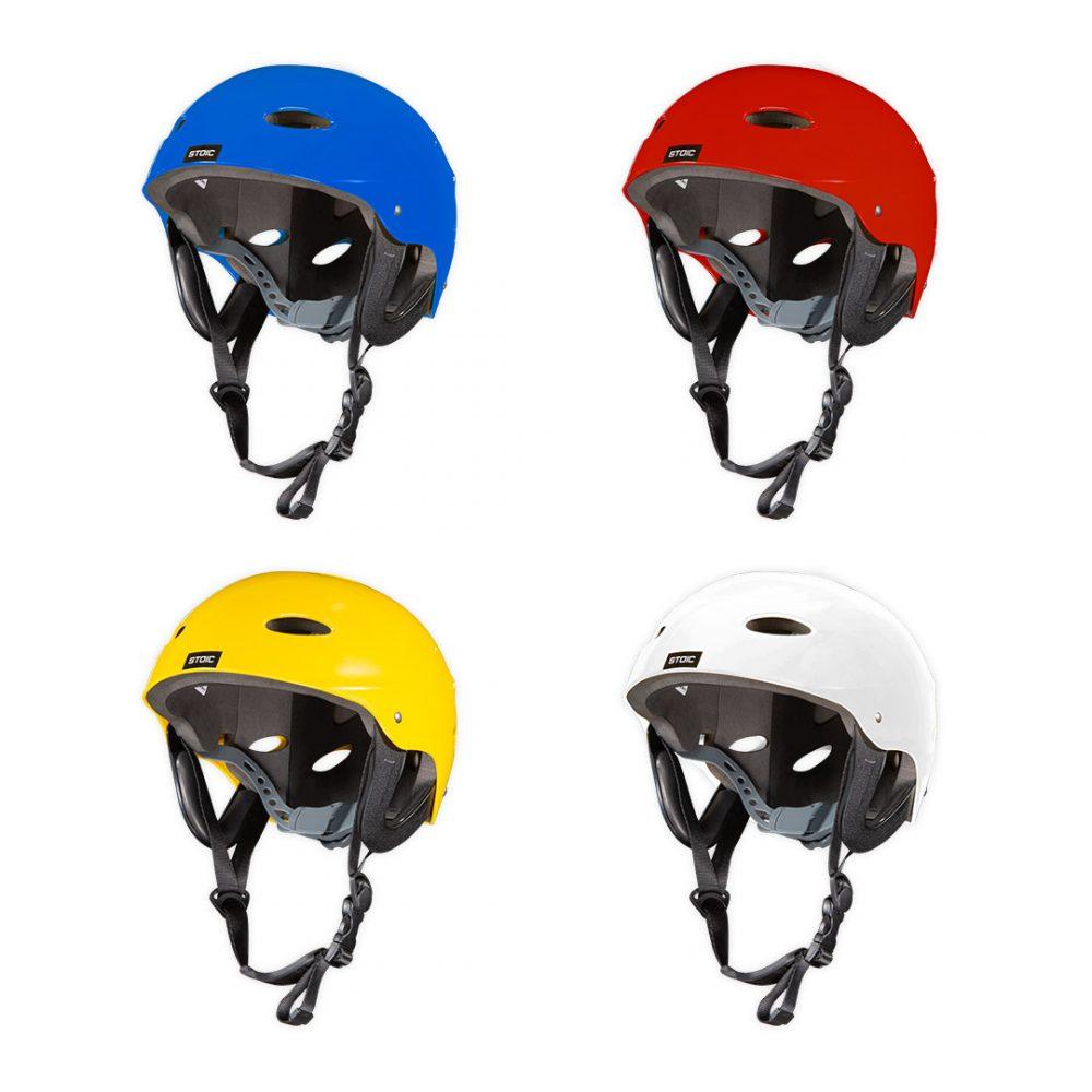 Couleurs disponibles Casque Stoïc canoë kayak rafting norme CE réglable