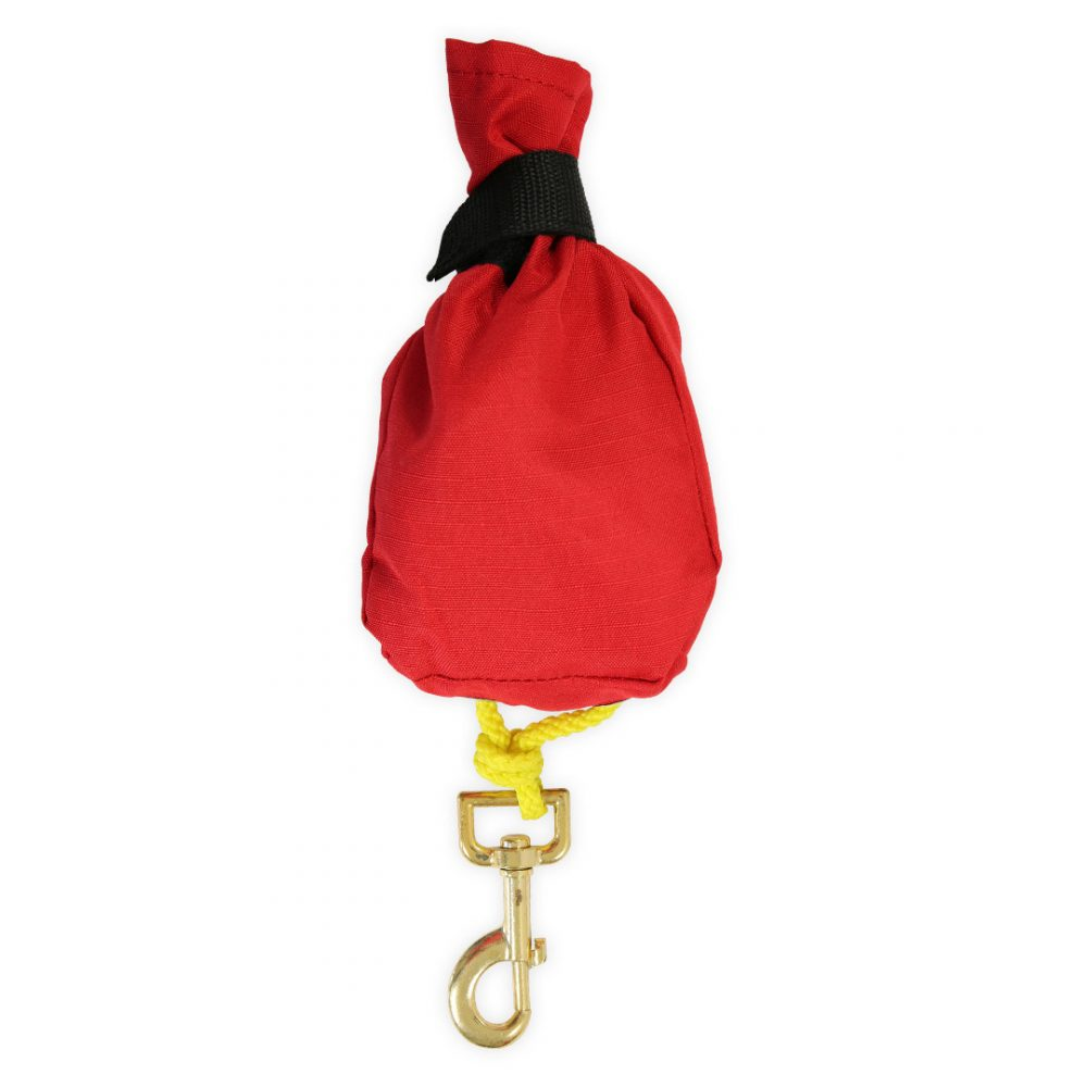 Red open tow rope  for canoe kayak