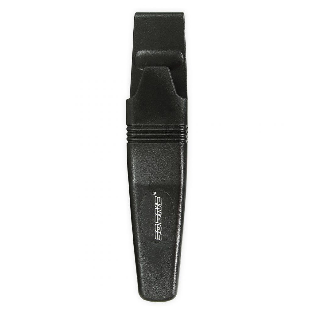 Aquadesign rorqual knife scabbard for diving and canoe kayaking