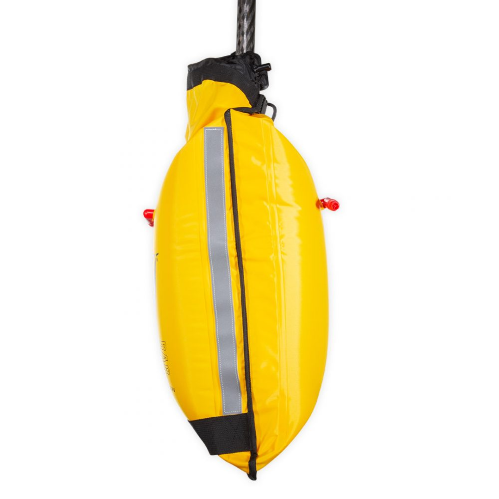 Flotteur pour pagaie kayak ou SUP paddle float SWIM Aquadesign vu de côté