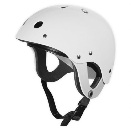 Le casque enfant canoë kayak Pitch blanc
