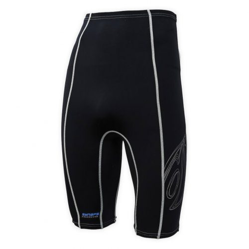 Lycra Synaps Aquadesign short for canoe kayak, paddle board, kite surf. Corner view.