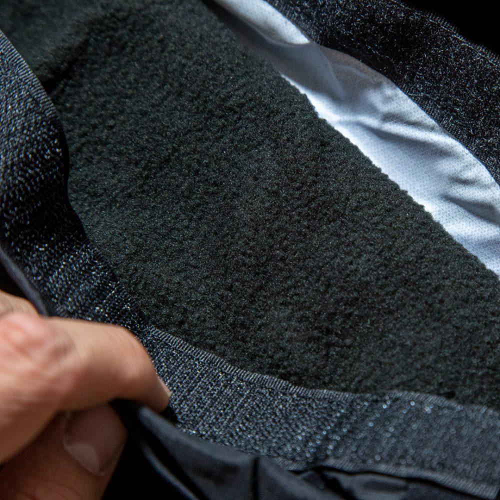 Manchon Kayak technique Bounter détail de l'intérieur Fleece