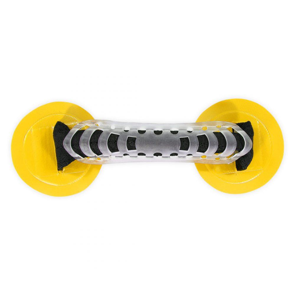 Poignée PVC flexible jaune