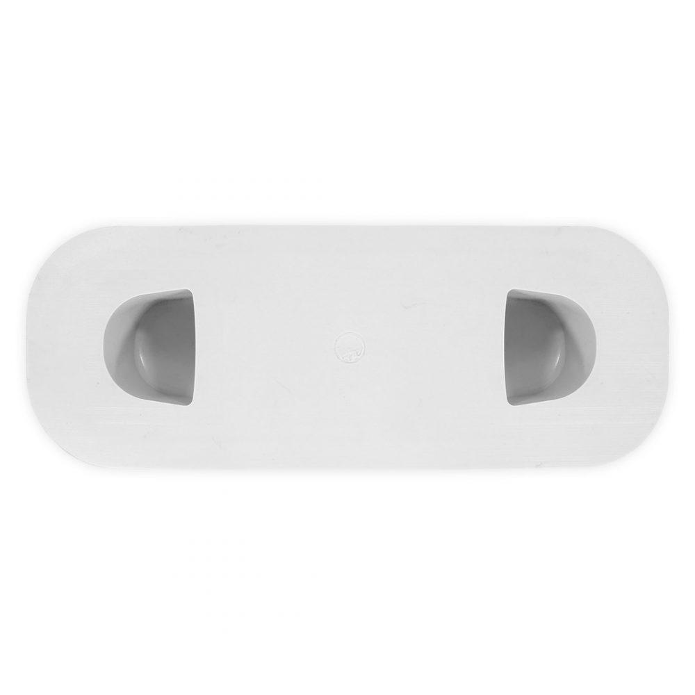 Poignée moulée PVC annexes ou semi-rigide gonflable vue de dessous