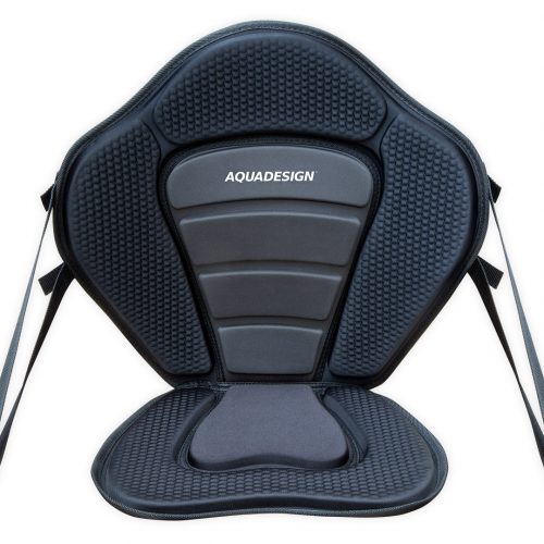 Fusion Aquadesign kayak seat for kayak, paddle board and seat on top front view