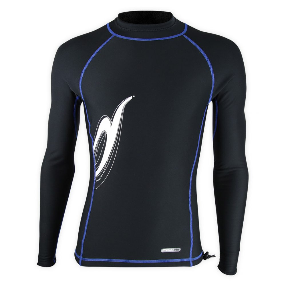 High technical FleeceTech waterproof and breathable cold season boating, canoeing, paddle boarding