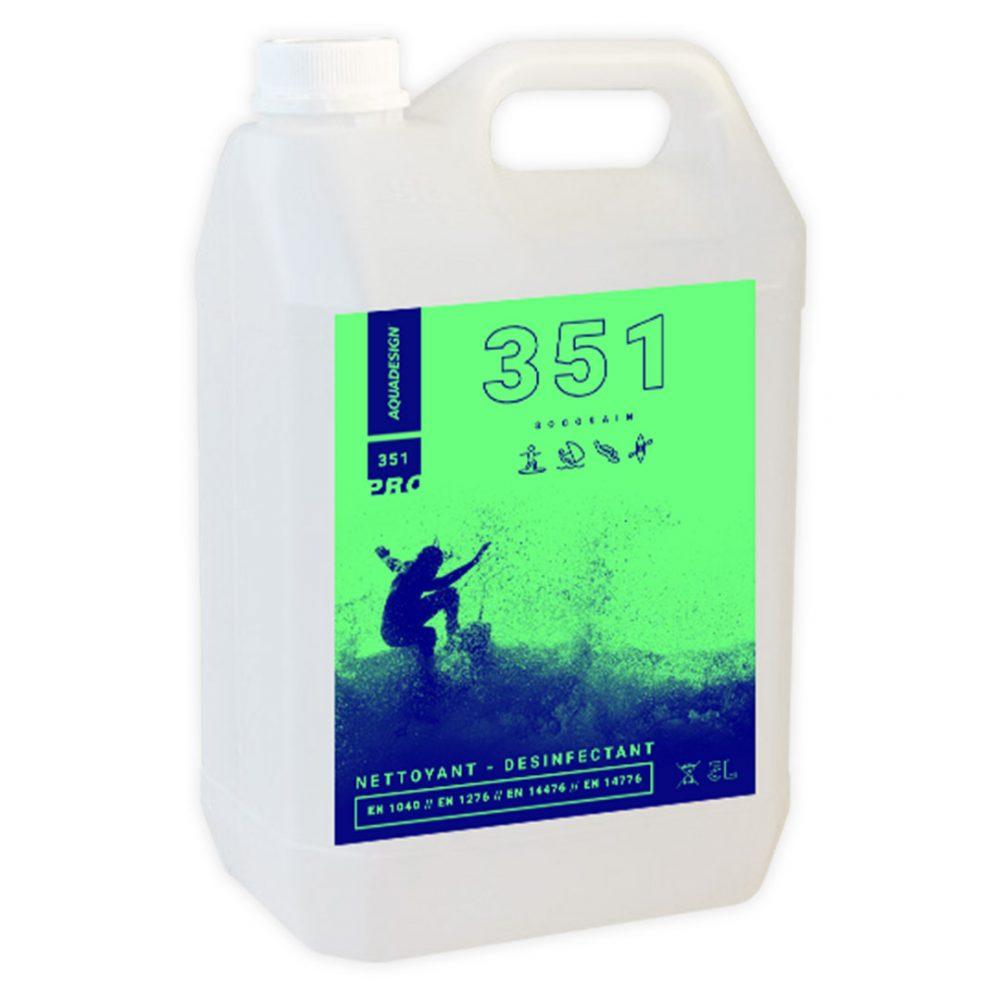Produit désinfectant nautique Socosain 351 5L